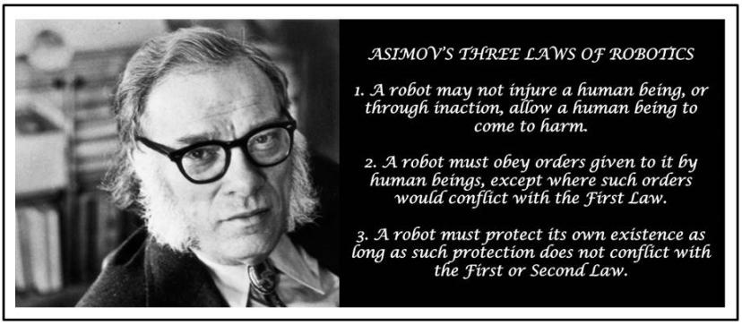 Asimovs 3 laws