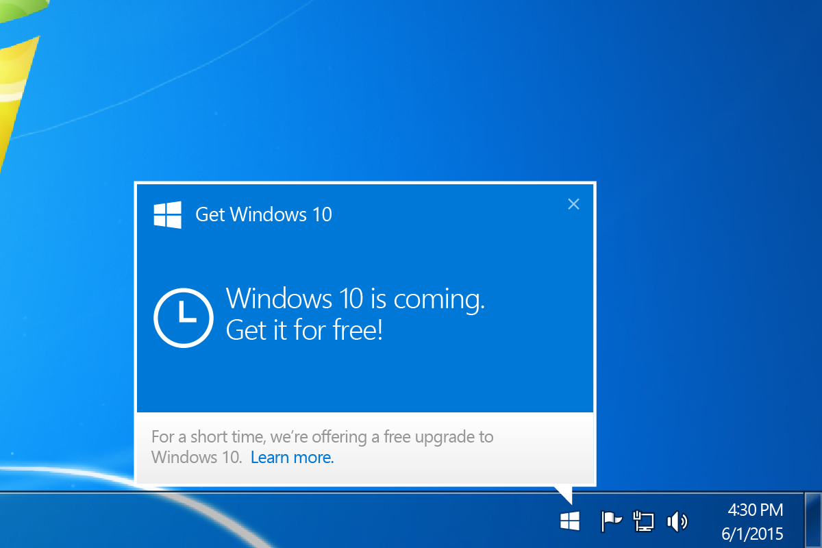 Windows 10: From 'May the force be with you' to 'We're forcing it on you'